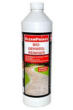 CleanPrince Bio-Gehweg-Reiniger 1 Liter Terrassen Terrassenplatten Außenreiniger