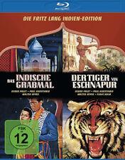 FRITZ LANG - INDIEN EDITION Das indische Grabmal TIGER VON ESCHNAPUR BLU-RAY Box