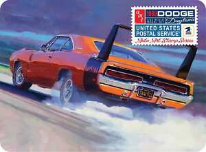 AMT 1969 Dodge Charger Daytona USPS collector tine 1:25 scale model car 1232