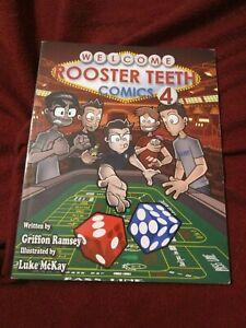 Rooster Teeth Comics Year 4 (2010, TPB) first print Griffon Ramsey & Luke McKay