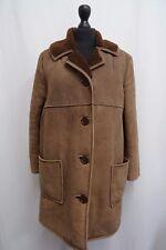 Women's Antartex Brown Sheepskin Coat Size 12 KK1293