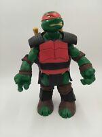 """PLAYMATES 2012 Viacom TMNT Teenage Mutant Ninja Turtle 10"""" RAPHAEL Action Figure"""