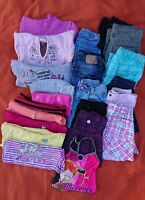 Bekleidungspaket 4 für Mädchen, Gr. 116 und 128       37 - teilig