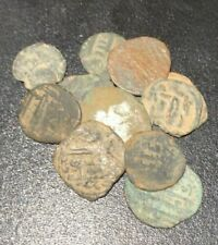Coin Medieval Arabic Muslim Conquest Of Spain Ancient Bronze Islamic 711 - 788