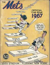 1967 New York Mets Official Yearbook