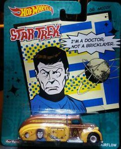 Hot Wheels Pop Culture '38 Dodge Airflow Star Trek Dr Mccoy Real Riders  MOMC