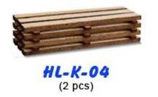 Proses HL-K-04 Wagon Load Kit Timber Loads (2Pcs) HO/OO Scale