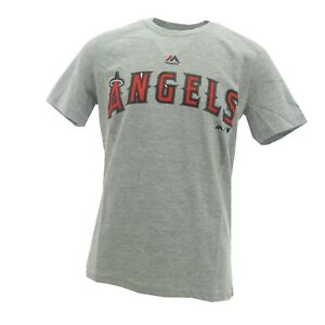 Los Angeles Angels Official MLB Majestic Kids Youth Size T-Shirt New with Tags
