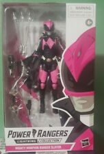 Power Rangers Mighty Morphin Lightning Collection Pink Slayer Ranger**