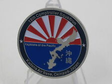 18th Comptroller Squadron - Kadena Air Force Base Okinawa Japan Challenge Coin