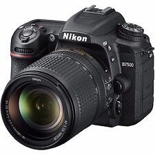 Sale NEW Nikon D7500 20.9MP Digital SLR Camera + Nikkor 18-140mm VR Lens1582