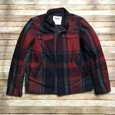 Tommy Hilfiger Denim Plaid Insulate Quilted Coat Jacket...