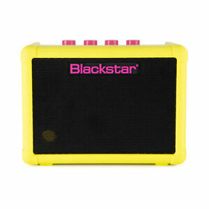 Blackstar Fly 3 Neon Special Edition Battery Powered Guitar Combo Amp, Neon YL