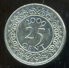 SURINAME  25 cents 2009