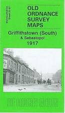 OLD ORDNANCE MAP Griffithstown South & Sebastopol 1917: Monmouthshire Sht 23.07