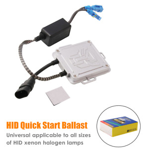 HID Quick Start Ballast For All Sizes Of Halogen Lamps Hid Xenon Lamps Universal