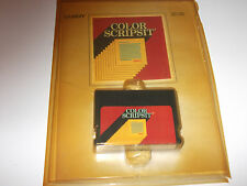 TANDY COLOR SCRIPTSIT SOFTWARE W/MANUAL TANDY COLOR COMPUTER 16K 26-3105