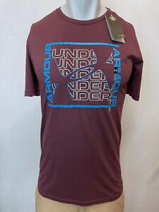 """Under Armour Men's T-Shirt Athletic Fit, Multiple Colors S-XL, """"Lettering Logo"""""""