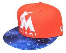 wholesale dealer 55d72 6f3ec Miami Marlins Star Galaxy 9FIFTY New Era SnapBack For Jordan Cavs Knicks  Tinker