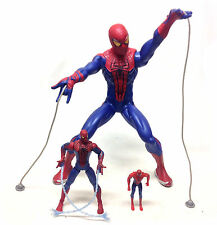 Marvel Comics SPIDERMAN toy action figures 3 different sizes lot set