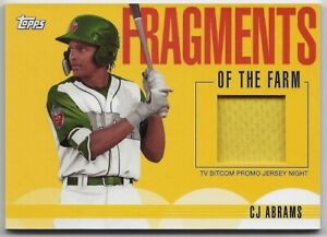 C  J Abrams 2020 Topps Pro Debut Fragments of the Farm San Diego Padres Prospect