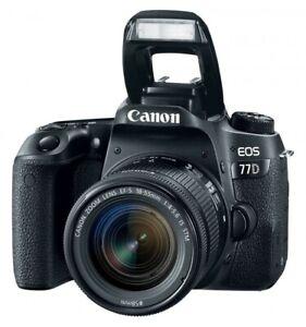 Canon Reflex 77D pari al nuovo (garanzia 2+3) + Obiettivo 18-55mm 1:4-5.6 IS STM