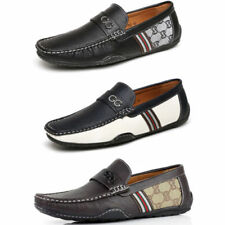 42766d233f5 Faux Leather Loafers Casual Shoes for Men for sale