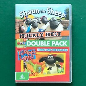 Shaun The Sheep Double DVD: Prickly Heat/Timmy Time - ABC FOR KIDS