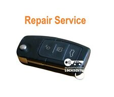 Ford Focus Fiesta Kuga Mondeo 3 button remote flip key REPAIR SERVICE