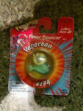 HASBRO (1998) POKEMON POWER BOUNCER #134 VAPOREON NEW!