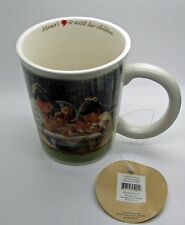 Mama Says Coffee Mug Demdaco 2007 Kathy Andrews Fisher Lord Bless Our Family