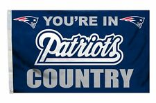 New England Patriots 3x5 Country Design Flag [New] Nfl Banner Sign Fan House