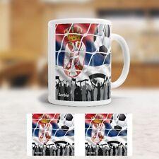 """Tasse """"WM"""" - Flagge Serbien - Fußball - Srbija - Serbia"""