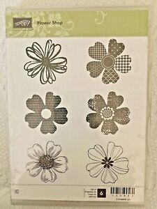 Stampin Up FLOWER SHOP  Stamp Set Of 6