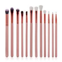 12pcs Pro Kabuki Make up Brush Set Foundation Blusher Concealer Eyeshadow Tools