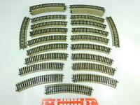 BU120-2# 29x Märklin H0/AC 5100 Gleisstück/Schiene gebogen M-Gleis