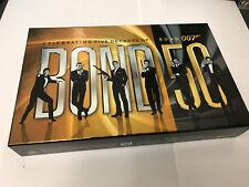 50 YEARS OF JAMES BOND BLURAY 22 MOVIES CELEBRATING FIVE DECADES OF 007 RARE SET