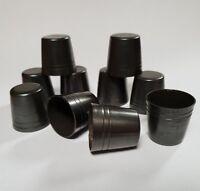 10 mixed STANDARD BRASS WALKING STICK FERRULES 20.5mm - 25mm for Stick Making