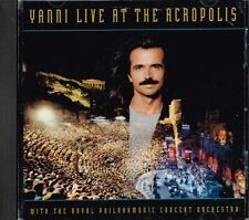 YANNI on LIVE at THE ACROPOLIS a CD of Greece GREEK Concert KEYBOARD Piano MUSIC