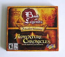 2 NEW PC/MAC Book Of Legends+Adventure Chronicles: The Search For Lost Treasure