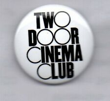 TWO DOOR CINEMA CLUB Tourist History BUTTON BADGE - INDIE ROCK POP BAND 25mm PIN