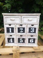 Vintage  Cabinet multi drawer chest 6 + 2 assembled vintage chest