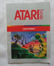 * Centipede * Atari 2600 Game Manual Only