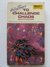KELLY FREAS COVER SIGNED PB BOOK TO CHALLENGE CHAOS BY BRIAN M STABLEFORD 1972 s
