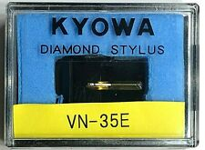 Kyowa Diamond Elliptical Stylus - Turntable Cartridge Needle for Shure VN- 35E