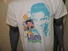 Vtg Elvis Presley The Legend Lives On USPS Postage Stamp T Shirt 92 Large Haband