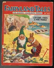 Fairyland Tales No.463: Lop-Ears Finds a Pink Pebble