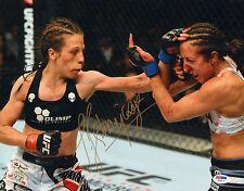 JOANNA JEDRZEJCZYK SIGNED AUTO'D 11X14 PHOTO PSA/DNA COA Z78373 MMA UFC CHAMPION