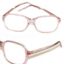 Jelly Readers Reading Glasses REAL GLASS Lens Women's Classic Pink Frame +1.75