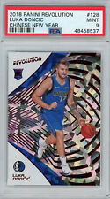 Luka Doncic 2018 Panini Revolution Chinese New Year Rookie Card RC #128 PSA 9